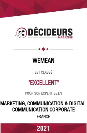 Communication corporate : excellent 2021